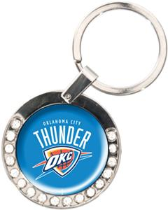 NBA Oklahoma City Thunder Rhinestone Key Chain