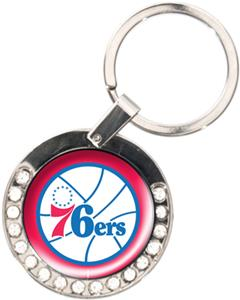 NBA Philadelphia 76ers Rhinestone Key Chain
