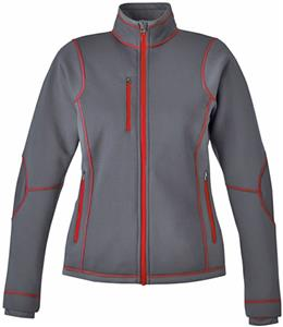 North End Sport Ladies Pulse Bonded Fleece Jacket