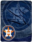 Northwest MLB Houston Astros Retro Raschel Throws
