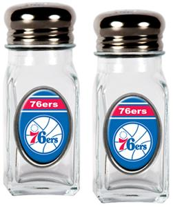 NBA Philadelphia 76ers Salt and Pepper Shaker Set