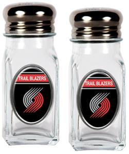 NBA Portland Trailblazers Salt & Pepper Shaker Set