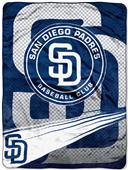 Northwest MLB San Diego Padres Raschel Throws