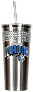 NBA Orlando Magic Bling Tumbler w/ Straw