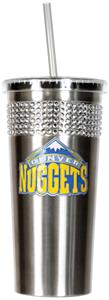 NBA Denver Nuggets Bling Tumbler w/ Straw
