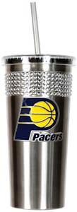 NBA Indiana Pacers Bling Tumbler w/ Straw