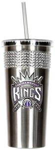 NBA Sacramento Kings Bling Tumbler w/ Straw