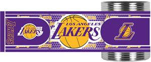 NBA Los Angeles Lakers Metallic Wrap Can Holders