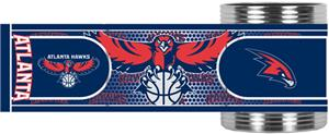NBA Atlanta Hawks Metallic Wrap Can Holders