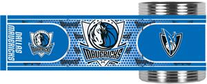 NBA Dallas Mavericks Metallic Wrap Can Holders