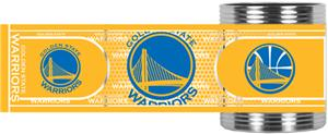 NBA Golden State Warriors Metallic Wrap Can Holder