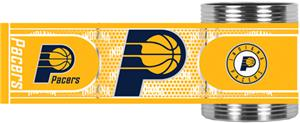 NBA Indiana Pacers Metallic Wrap Can Holders