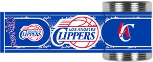 NBA Los Angeles Clippers Metallic Wrap Can Holders