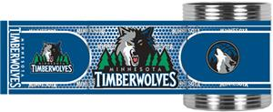 NBA Minnesota Timberwolves Metallic Wrap Holder