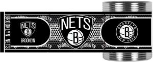 NBA Brooklyn Nets Metallic Wrap Can Holders
