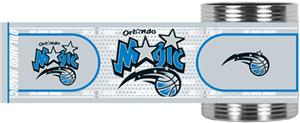 NBA Orlando Magic Metallic Wrap Can Holders