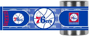 NBA Philadelphia 76ers Metallic Wrap Can Holders