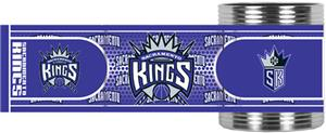 NBA Sacramento Kings Metallic Wrap Can Holder