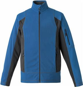 North End Generate Mens Textured Fleece Jacket