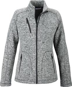 North End Sport Peak Ladies Sweater Fleece Jacket