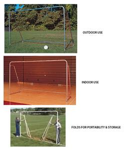 Indoor/Outdoor Folding Steel Soccer Goal 7'x12'