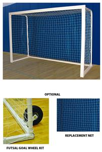 Deluxe Official Futsal Soccer Goal (PAIR)