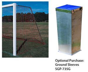 Semi-Permanent/Permanent Square Soccer Goal