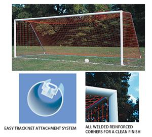 Portable Official Round Soccer Goal