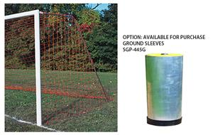 Semi-Permanent/Permanent Round Soccer Goal
