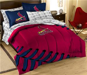 Northwest MLB Cardinals Full Bed In Bag Sets