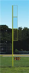 Baseball Collegiate 20' Foul Pole Brilliant Yellow