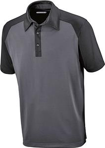 North End Sport Mens Symmetry Coffee Polo