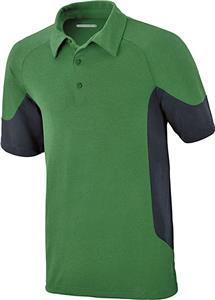 North End Sport Refresh Mens Melange Jersey Polo