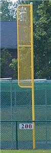 Baseball 20' or 30' Foul Pole Ground Sleeves PAIR