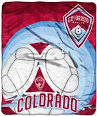 Northwest MLS Colorado Rapids Raschel Throws