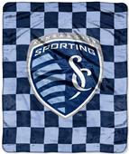 Northwest MLS Sporting Kansas City Raschel Throws