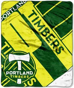 Northwest MLS Portland Timbers Raschel Throws
