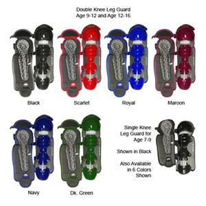 Adams Baseball Catcher's Leg Guards-Youth
