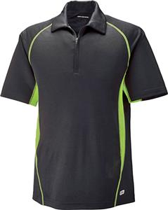North End Sport Serac Mens Zippered Polo