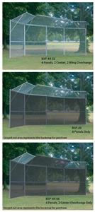 Permanent Baseball/Softball Backstops 4 Panels