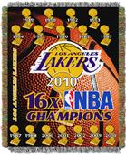Northwest NBA Los Angeles Lakers Tapestry Throws