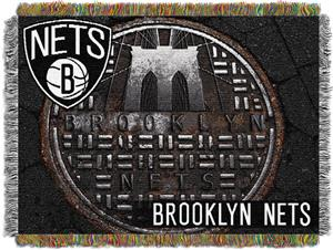 Northwest NBA Brooklyn Nets Tapestry Throws