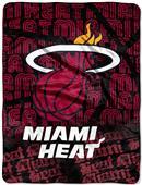 Northwest NBA Miami Heat Micro Raschel Throws