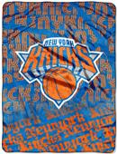 Northwest NBA New York Knicks Micro Raschel Throws