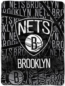 Northwest NBA Brooklyn Nets Micro Raschel Throws