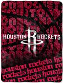 Northwest NBA Houston Rockets Micro Raschel Throws
