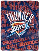 Northwest NBA OC Thunder Micro Raschel Throws