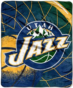 Northwest NBA Utah Jazz Raschel Throws