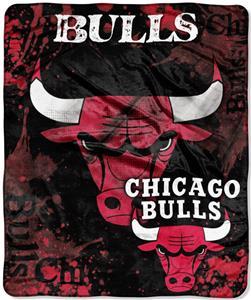 Northwest NBA Chicago Bulls Raschel Throws