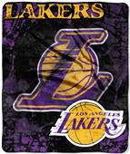 Northwest NBA Los Angeles Lakers Raschel Throws